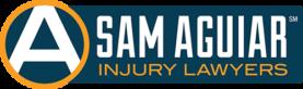 sam aguiar injury lawyers logo