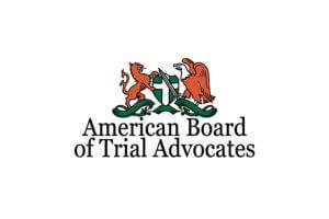 American Board of Trial Advocates logo Aguiar injury lawyers